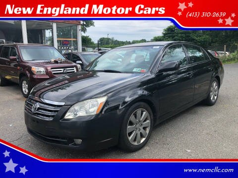 2005 Toyota Avalon for sale at New England Motor Cars in Springfield MA