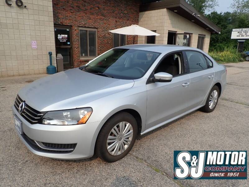 2014 Volkswagen Passat for sale at S & J Motor Co Inc. in Merrimack NH