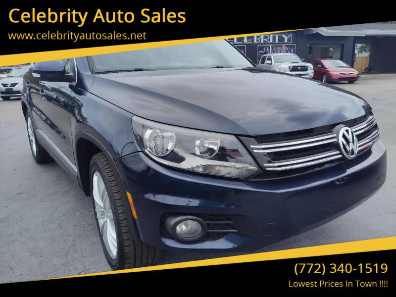 2012 Volkswagen Tiguan for sale at Celebrity Auto Sales in Port Saint Lucie FL