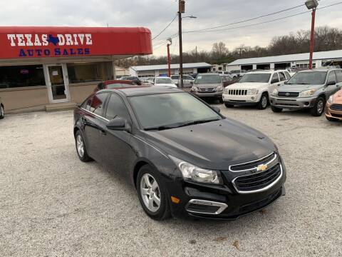 2016 Chevrolet Cruze Limited for sale at Texas Drive LLC in Garland TX