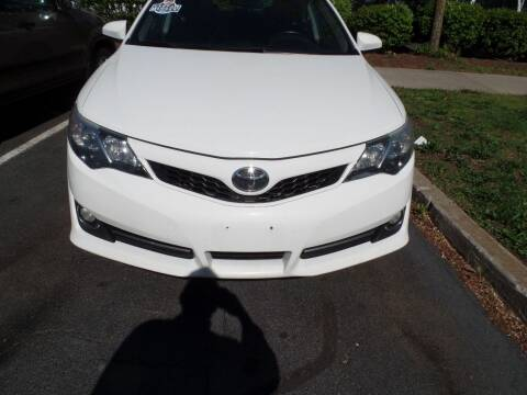 2014 Toyota Camry for sale at CAR CORNER RETAIL SALES in Manchester CT
