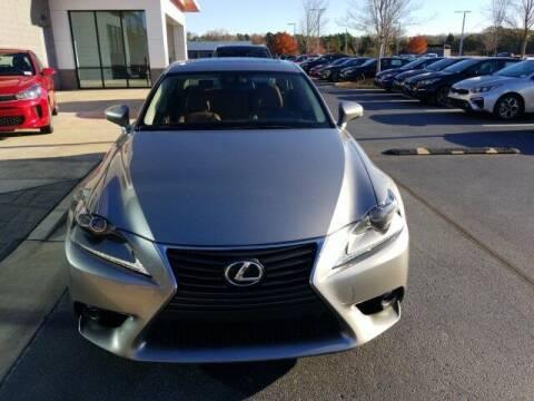 2016 Lexus IS 300 for sale at Lou Sobh Kia in Cumming GA