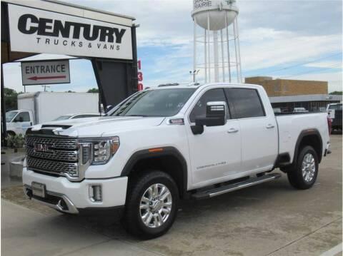 2020 GMC Sierra 2500HD for sale at CENTURY TRUCKS & VANS in Grand Prairie TX