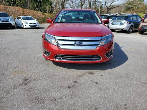 2010 Ford Fusion for sale at DISCOUNT AUTO SALES in Johnson City TN