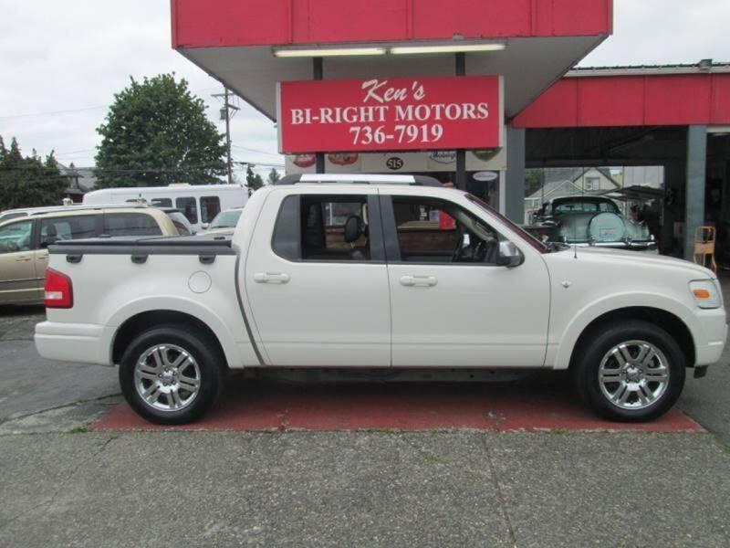 2008 Ford Explorer Sport Trac for sale at Bi Right Motors in Centralia WA