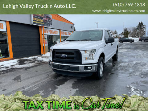 2015 Ford F-150 for sale at Lehigh Valley Truck n Auto LLC. in Schnecksville PA