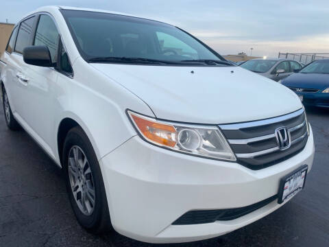 2012 Honda Odyssey for sale at VIP Auto Sales & Service in Franklin OH