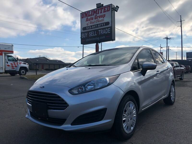 2017 Ford Fiesta for sale at Unlimited Auto Group in West Chester OH