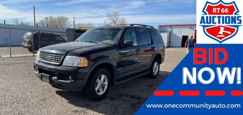 2003 Ford Explorer for sale at One Community Auto LLC in Albuquerque NM
