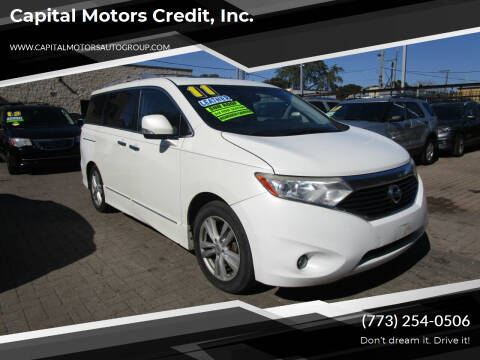 2011 Nissan Quest for sale at Capital Motors Credit, Inc. in Chicago IL