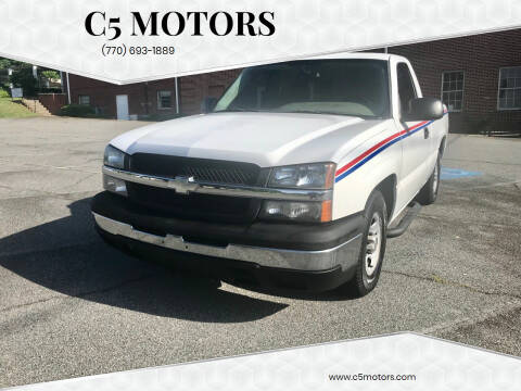 2004 Chevrolet Silverado 1500 for sale at C5 Motors in Marietta GA
