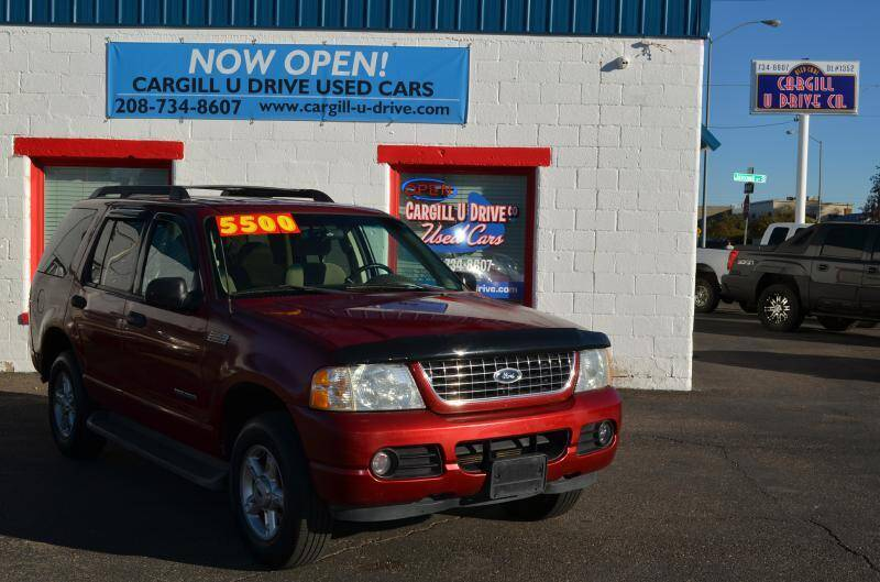 2005 Ford Explorer for sale at CARGILL U DRIVE USED CARS in Twin Falls ID
