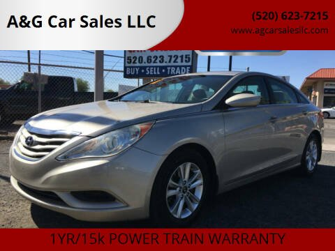 2011 Hyundai Sonata for sale at A&G Car Sales  LLC in Tucson AZ