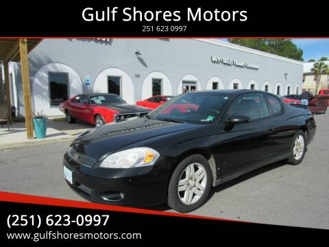 2006 Chevrolet Monte Carlo for sale at Gulf Shores Motors in Gulf Shores AL