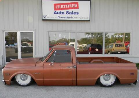 1971 Chevrolet C/K 10 Series for sale at Certified Auto Sales in Des Moines IA