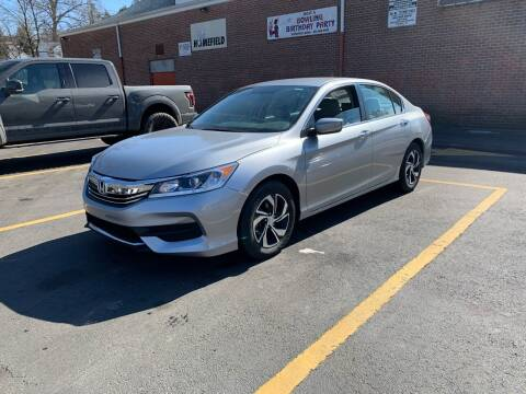 2017 Honda Accord for sale at White River Auto Sales in New Rochelle NY