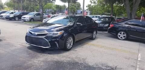 2016 Toyota Avalon Hybrid for sale at ROYALTON MOTORS in Plantation FL