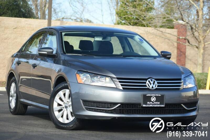 2013 Volkswagen Passat for sale at Galaxy Autosport in Sacramento CA
