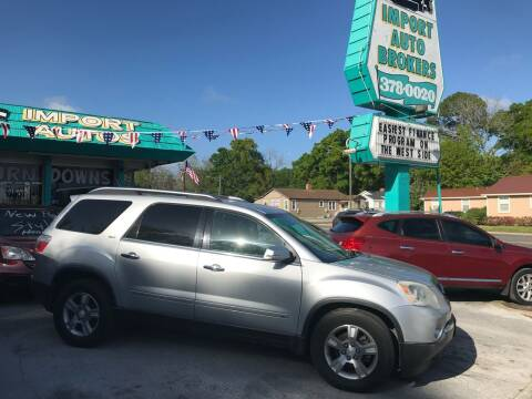 2009 GMC Acadia for sale at Import Auto Brokers Inc in Jacksonville FL