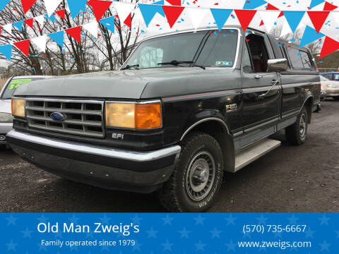 1988 Ford F-150 for sale at Old Man Zweig's in Plymouth Township PA