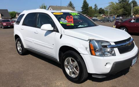 2006 Chevrolet Equinox for sale at Freeborn Motors in Lafayette, OR
