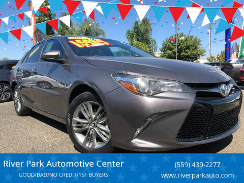 2017 Toyota Camry for sale at River Park Automotive Center in Fresno CA