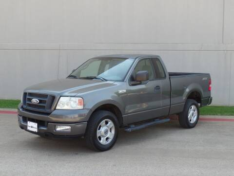 2004 Ford F-150 for sale at CROWN AUTOPLEX in Arlington TX