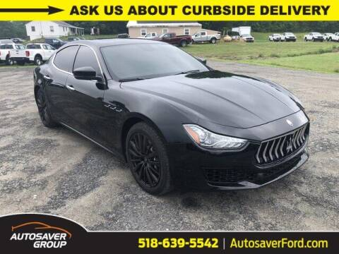 2018 Maserati Ghibli for sale at Autosaver Ford in Comstock NY