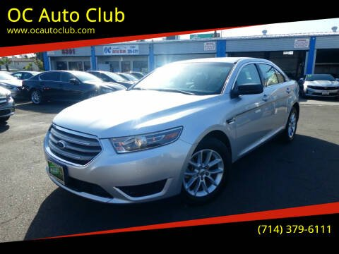 2015 Ford Taurus for sale at OC Auto Club in Midway City CA