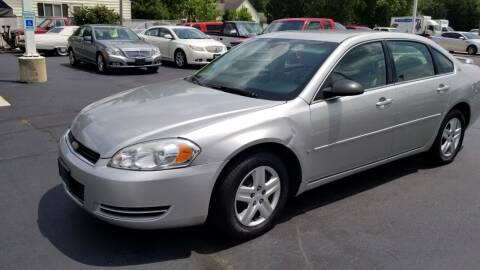 2006 Chevrolet Impala for sale at Advantage Auto Sales & Imports Inc in Loves Park IL