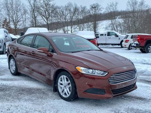 2016 Ford Fusion for sale at Griffith Auto Sales in Home PA