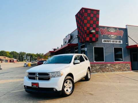 2013 Dodge Durango for sale at Chema's Autos & Tires in Tyler TX