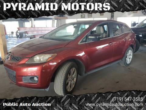 2007 Mazda CX-7 for sale at PYRAMID MOTORS - Pueblo Lot in Pueblo CO