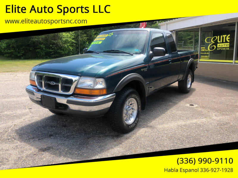 1998 Ford Ranger for sale at Elite Auto Sports LLC in Wilkesboro NC