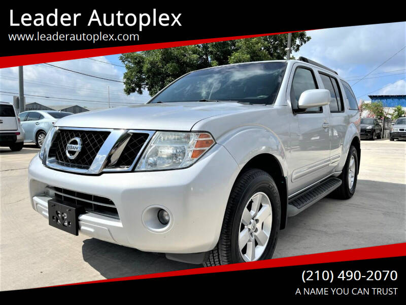 2012 Nissan Pathfinder for sale at Leader Autoplex in San Antonio TX