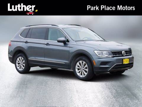 2018 Volkswagen Tiguan for sale at Park Place Motor Cars in Rochester MN