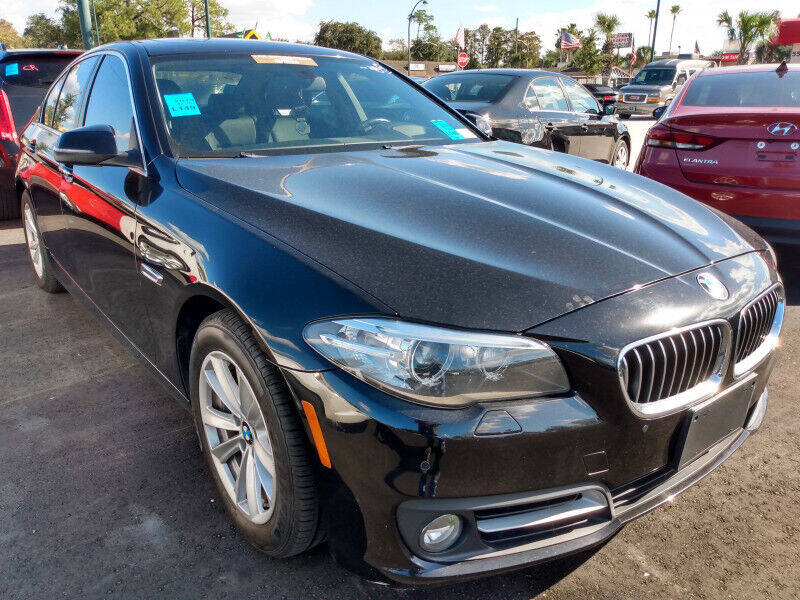 2015 BMW 5 Series for sale at Empire Automotive Group Inc. in Orlando FL