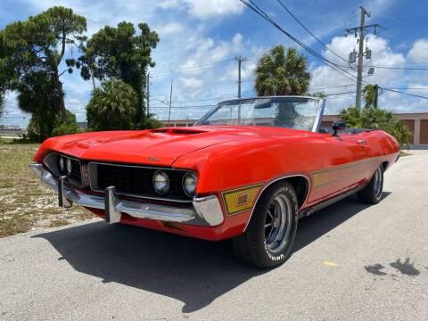 1971 Ford Torino GT Convertible for sale at American Classics Autotrader LLC in Pompano Beach FL
