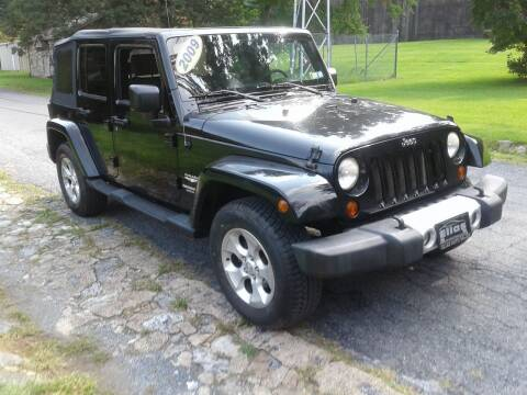 2009 Jeep Wrangler Unlimited for sale at ELIAS AUTO SALES in Allentown PA