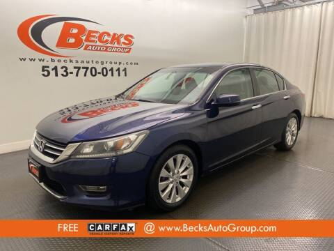 2013 Honda Accord for sale at Becks Auto Group in Mason OH