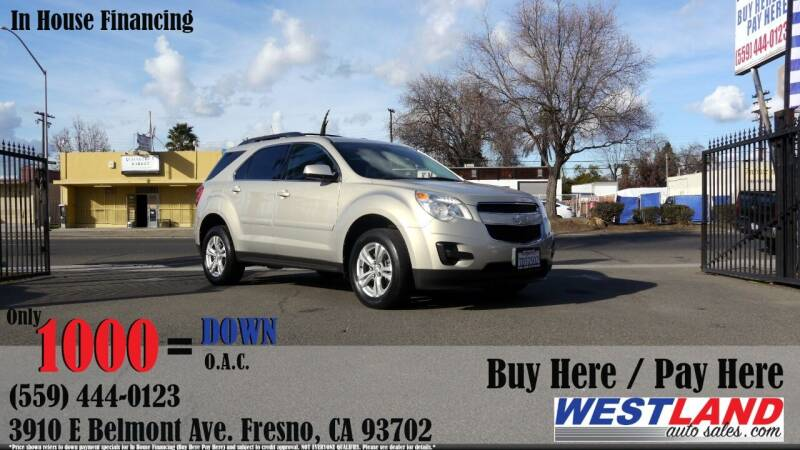 2010 Chevrolet Equinox for sale at Westland Auto Sales in Fresno CA