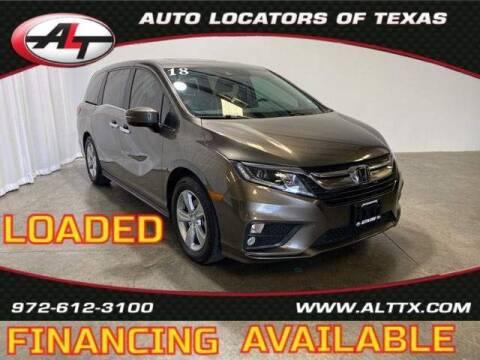 2018 Honda Odyssey for sale at AUTO LOCATORS OF TEXAS in Plano TX
