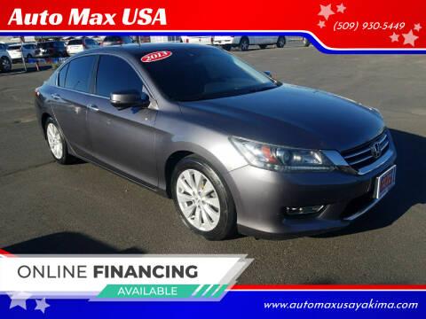 2013 Honda Accord for sale at Auto Max USA in Yakima WA