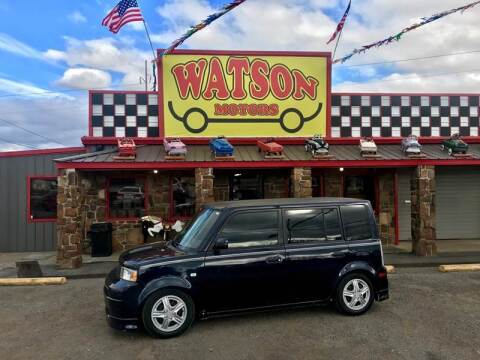 2005 Scion xB for sale at Watson Motors in Poteau OK