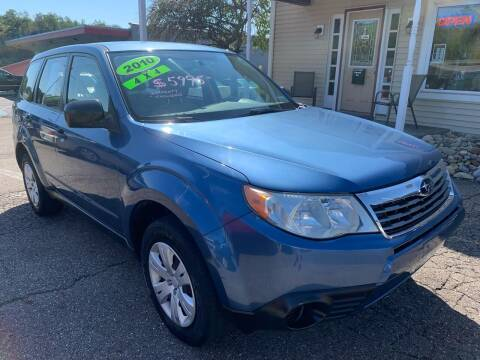 2010 Subaru Forester for sale at G & G Auto Sales in Steubenville OH