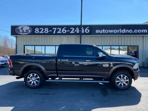 2018 RAM Ram Pickup 2500 for sale at AutoWorld of Lenoir in Lenoir NC