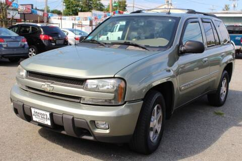 2004 Chevrolet TrailBlazer for sale at Grasso's Auto Sales in Providence RI