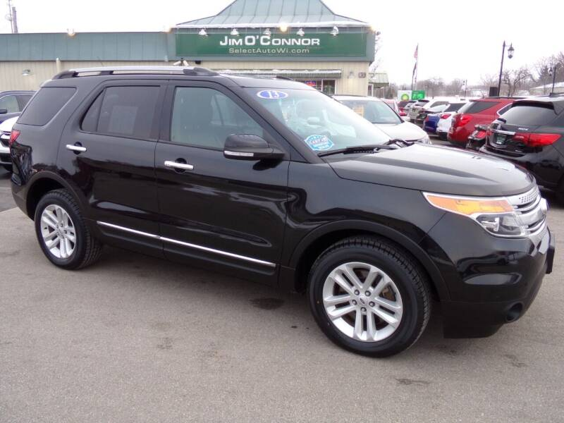 2013 Ford Explorer for sale at Jim O'Connor Select Auto in Oconomowoc WI