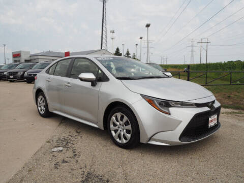 2020 Toyota Corolla for sale at SIMOTES MOTORS in Minooka IL