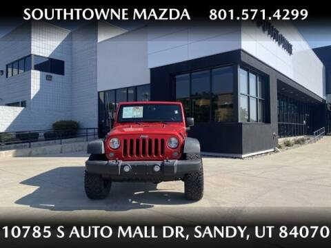 2014 Jeep Wrangler Unlimited for sale at Southtowne Mazda of Sandy in Sandy UT